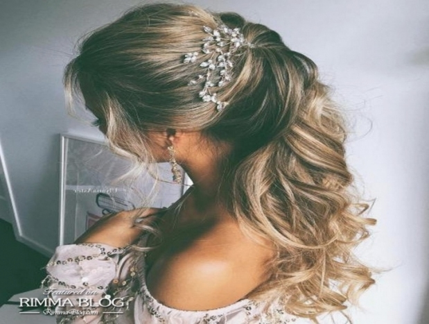 Beautiful Half Updos For Long Hair Wedding Contemporary   Styles For Half Updos For Long Hair Wedding