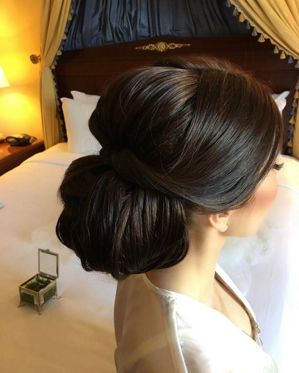 Beautiful Updo Bridal Hairstyle To Inspire You | Ucesy | Pinterest For Beautiful Elegant Wedding Hair Df9