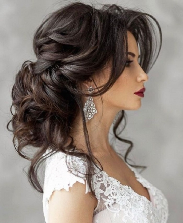 Beautiful Wedding Hairstyle For Long Hair Perfect For Any Wedding pertaining to Hair Style For Weddings