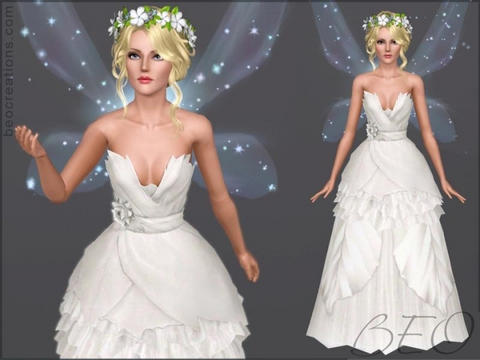 Beo's Bride Fairy Regarding New Sims 3 Wedding Hair Klp8