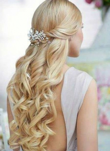 Best Wedding Hairstyles For Long Hair Within Awesome Half Updos For Long Hair Wedding Kc3
