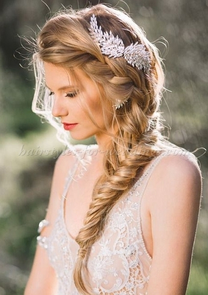 Braided Wedding Hairstyles   Braided Wedding Hairstyle | Hairstyles In Elegant Hair Style For Weddings Dt3