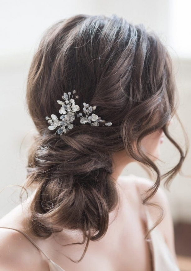 Bridal Hairstyle: Wedding Looks Perfect For A Beach Wedding In Elegant Hair Style For Weddings Dt3