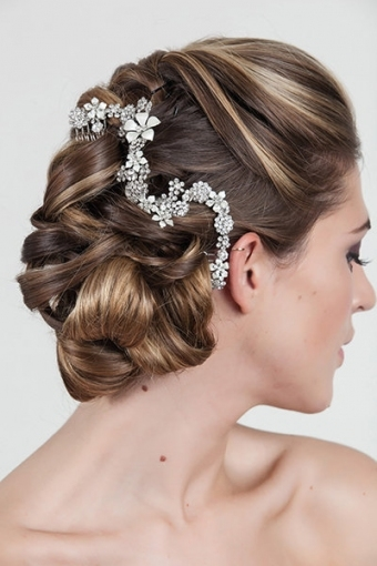 Choosing The Perfect Wedding Hairstyle | Bridalguide With Hair Style For Weddings