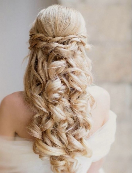 Creative And Elegant Wedding Hairstyles For Long Hair   Modwedding With Regard To Hair For Weddings