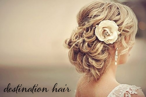 Destination Wedding Hair   The Destination Wedding Blog   Jet Fete With Regard To Hair For Weddings