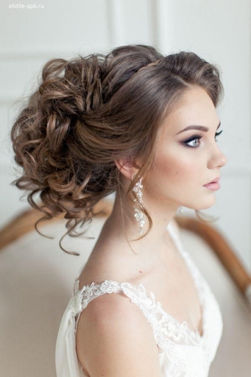 Elegant Wedding Hairstyles Part Ii: Bridal Updos #2575763   Weddbook With Regard To Elegant Wedding Hair