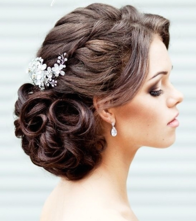 Find The Perfect Wedding Hairstyle Pertaining To Hair For Weddings
