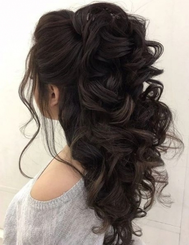 Haar   Wedding Hairstyle Inspiration   Elstile #2800311   Weddbook Throughout Hair Style For Weddings