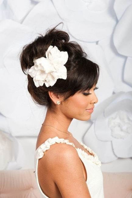 Hair   Elegant Wedding Hairstyles #2081423   Weddbook Throughout Beautiful Elegant Wedding Hair Df9