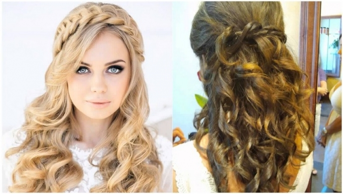 Hairstyle For Wedding Guest Long Hair – Best Bridal Collection Within Best Of Hair For A Wedding Guest Sf8
