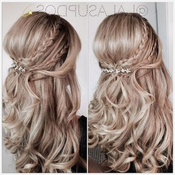 Hairstyles: Adorable Wedding Hairstyles Half Up For Best Hairstyle In Best Of Hair For A Wedding Guest Sf8