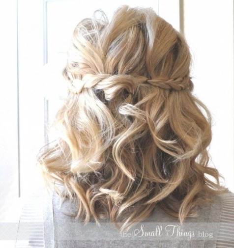 Half Up Half Down Hairstyles For Wedding Guest | Wedding Guest Hair With Regard To Best Of Hair For A Wedding Guest Sf8