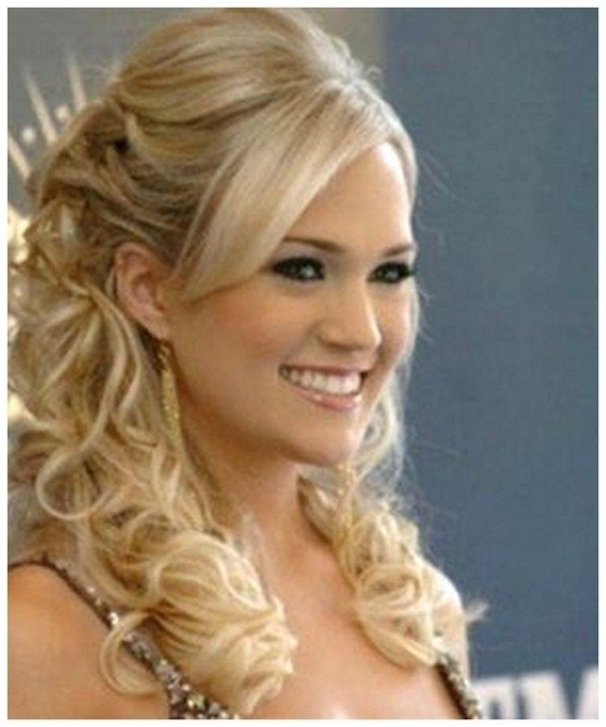 Half Up Half Down Wedding Hairstyles With Tiara And Veil Fresh Intended For Wedding Hair Half Up With Veil