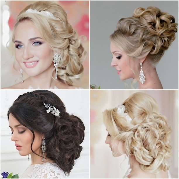 Incredibly Elegant Wedding Hairstyles From Websalon Wedding Intended For Beautiful Elegant Wedding Hair Df9