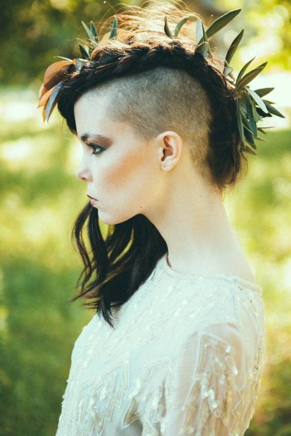Killer Wedding Hair Ideas For Every Kind Of Hair | Apw With Regard To Elegant Hair Style For Weddings Dt3