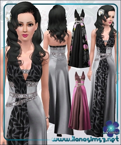 Liana Sims3   Everything For Your Sims 3 Game   Free Downloads To Regarding New Sims 3 Wedding Hair Klp8