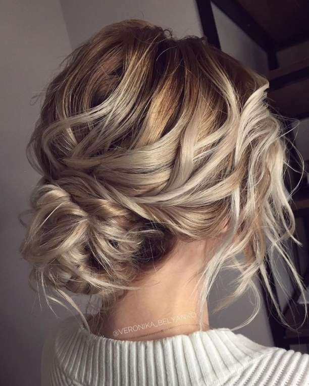 Makeup & Hair Ideas: Messy Wedding Hair Updos | For Me | Pinterest With Regard To Wedding Hair Pics