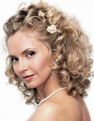 Medium Length Wedding Hairstyles   Wedding Hairstyle Within Wedding Hair For Medium Hair