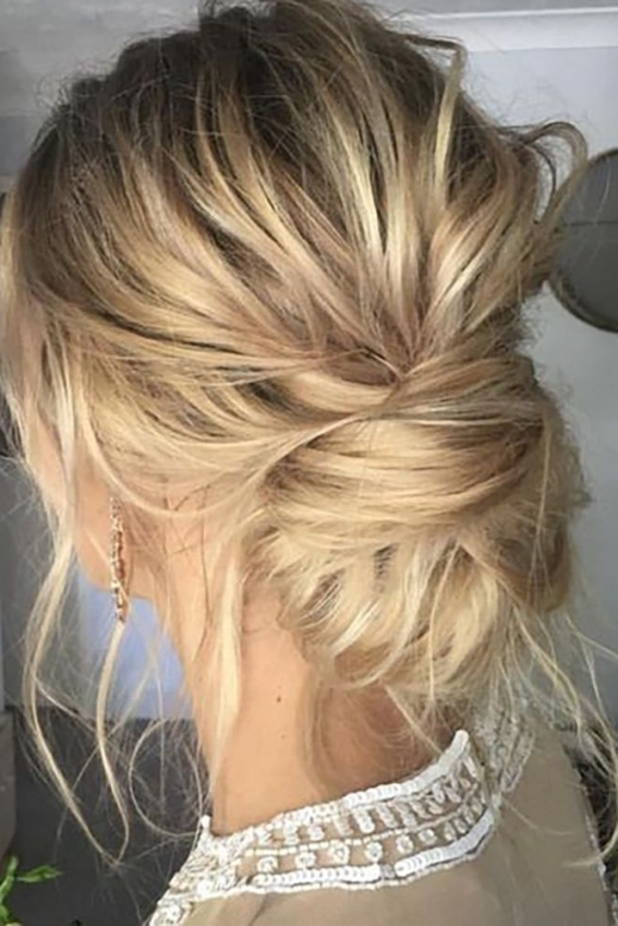 Photo Gallery Of Easy Hair Updo Hairstyles For Wedding (Showing 4 Of Throughout Hair For A Wedding Guest