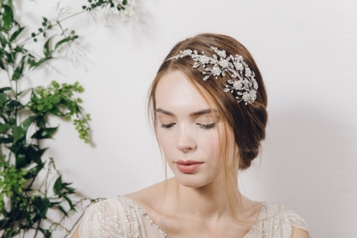 Secret Garden Wedding Hair Accessories From Debbie Carlisle Bridal Regarding Elegant Vintage Wedding Hair Piece Dt3