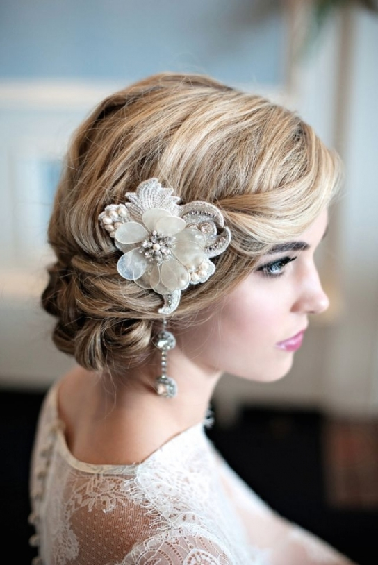Sew' In Love: Vintage French Wedding Inspiration | Acessórios Cabelo For Vintage Wedding Hair Piece