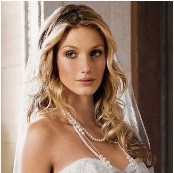 Sexy Long Wavy Wedding Hairstyle Down Hairdo With Regard To New Sexy Wedding Hair Klp8