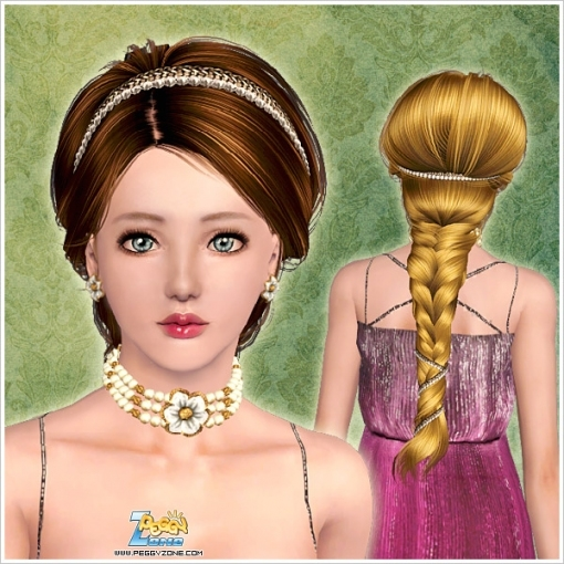 Sims 3 Hairstyles | Hairstyles Image Gallery within New Sims 3 Wedding Hair klp8