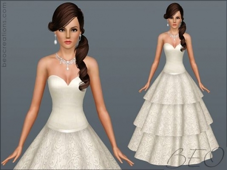 Sims 3 Updates   Updates And Finds From Dh4S, 4 Sims Regarding Sims 3 Wedding Hair