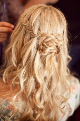 Swoonworthy Braided Wedding Hairstyles Inside Lovely Waterfall Braid Wedding Hair Fg8