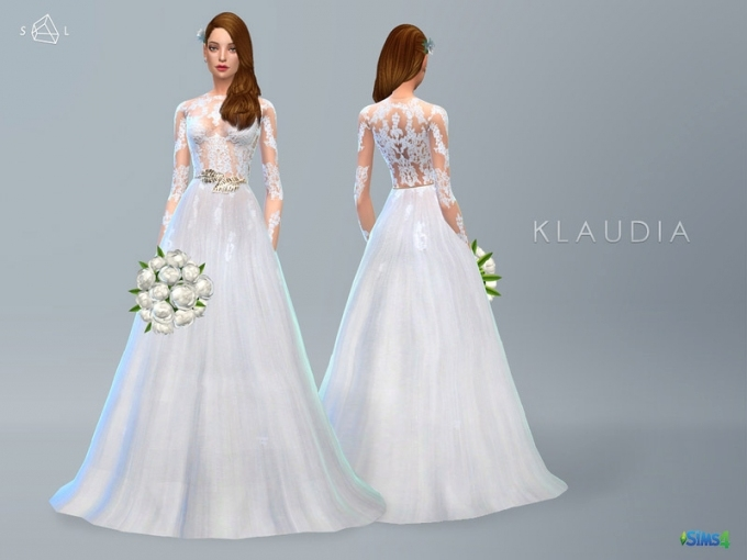 The Sims 4 Clothing   Free Downloads With Sims 3 Wedding Hair