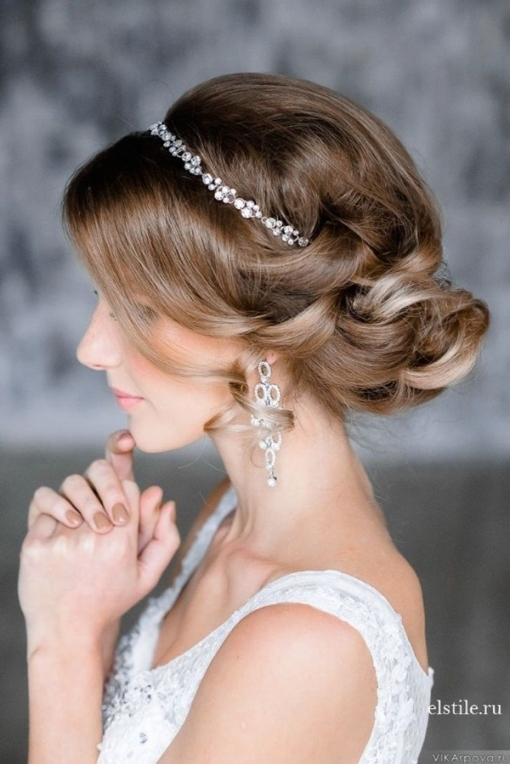 Top 20 Bridal Headpieces For Your Wedding Hairstyles With Elegant Wedding Hair