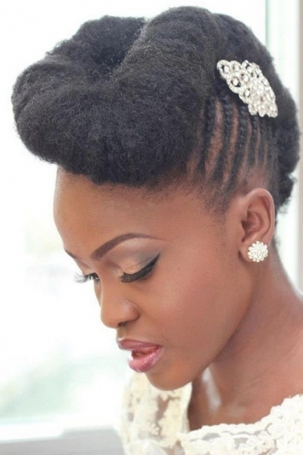 Unique Natural Hair For Wedding fg8