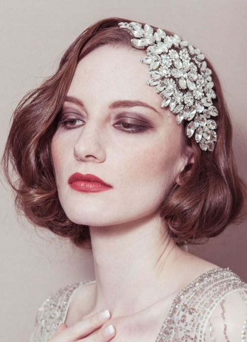 Vintage Hair Accessories Can Really Finish Off Your 1920 Bridal In Elegant Vintage Wedding Hair Piece Dt3