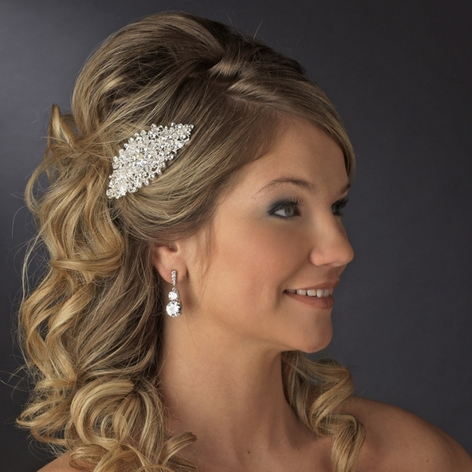 Vintage Wedding Hair Accessories | Lovethebride's Blog Pertaining To Vintage Wedding Hair Piece