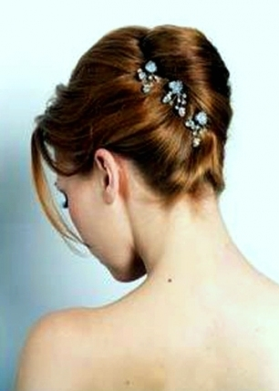 Wedding Bridal Hairstyles For Medium Hair   My Bride Hair With Wedding Hair For Medium Hair