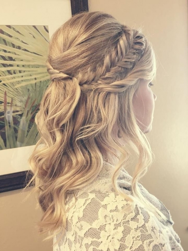 Wedding Day Half Updos | Womens Hairstyles Throughout Awesome Half Updos For Long Hair Wedding Kc3