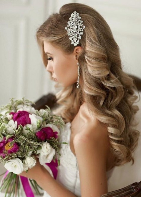Wedding Hair For The Gown You'll Wear At All Brides Beautiful Within Wedding Hair Pics