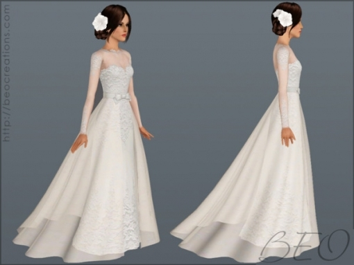 Wedding Hair The Sims 3 | Top Hairstyles For Sims 3 Wedding Hair