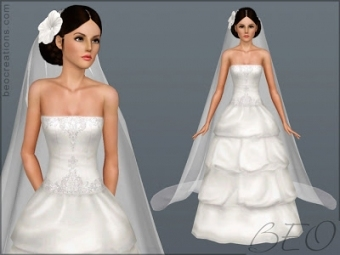 Wedding Hair The Sims 3 | Top Hairstyles With Regard To New Sims 3 Wedding Hair Klp8