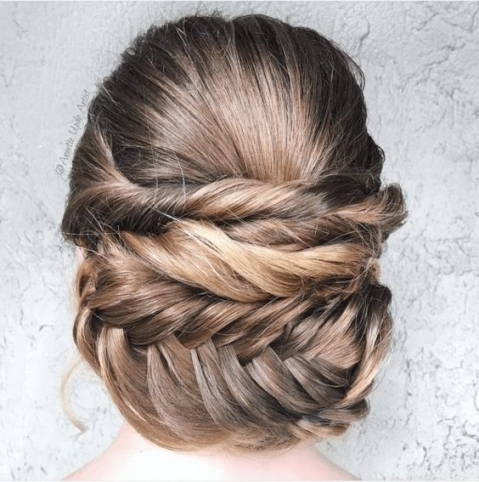Wedding Hairstyles For Every Hair Type | A Practical Wedding Throughout Hair Style For Weddings