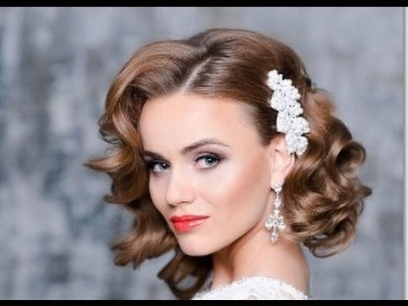 Wedding Hairstyles For Short Hair   Youtube Pertaining To Short Hair Styles For Wedding