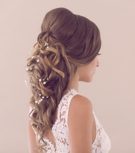 Wedding Hairstyles Mobile Hairdressers The Powder Room Brisbane Within Wedding Hair Pics