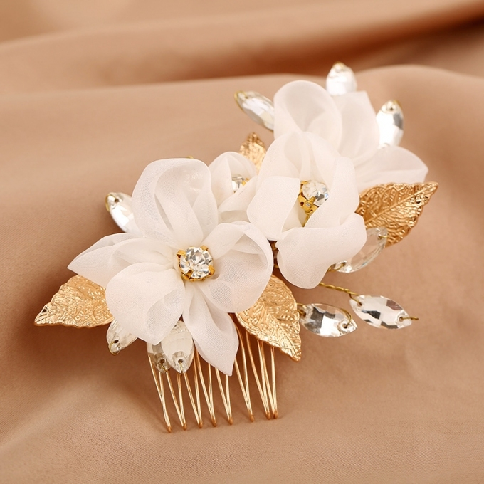 Yean Wedding Hair Comb Leaf Hair Comb Bridal Leaves Hair Clips Hair With New Wedding Hair Clips And Combs Ty4