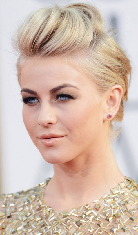 10 Gorgeous Wedding Updos For Short Hair For Wedding Updo For Short Hair