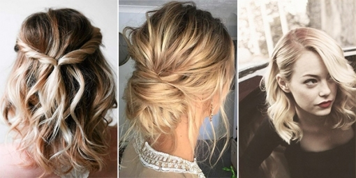 10 Latest Wedding Hairstyles For Medium Length Hair   Emmalovesweddings Pertaining To Best Of Wedding Updos For Shoulder Length Hair Sf8