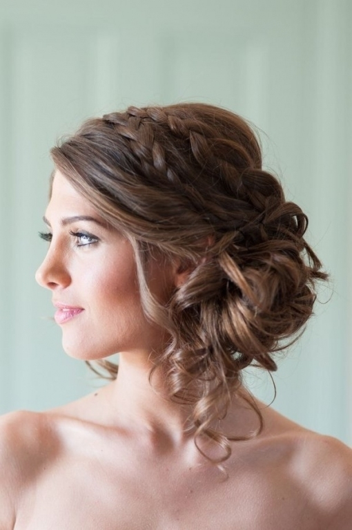 10 Wedding Hairstyles For Long Hair | Mywedding In Inspirational Wedding Hair Up Do Sf8