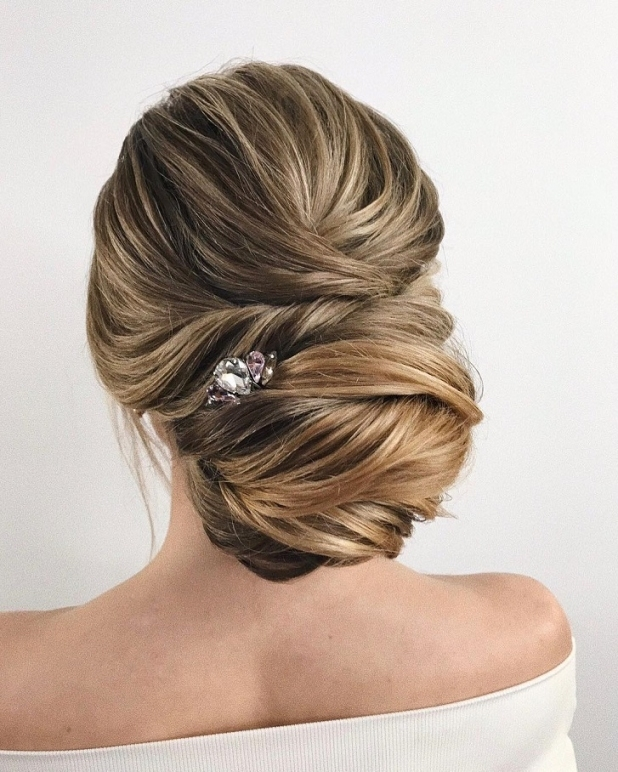 100 Gorgeous Wedding Updo Hairstyles That Will Wow Your Big Day Intended For Wedding Hair Up Do