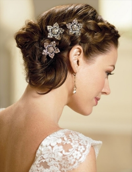 12 Modern Wedding Hairstyles For Women And Girls | Hairstyles 2018 inside Modern Wedding Hair