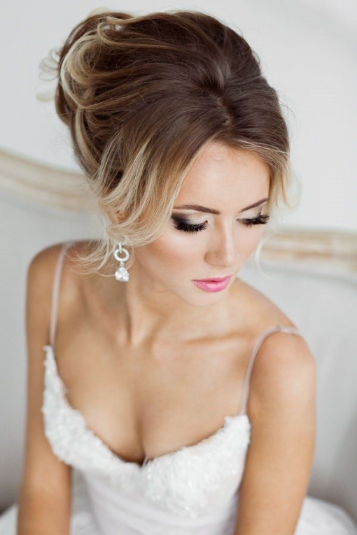 18 Wedding Hair And Wedding Makeup Ideas | Here Comes The Bride pertaining to Best of Wedding Hair Makeup sf8